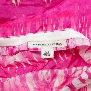 Banana Republic Tops - BANANA REPUBLIC – Pink Silk Halter Top – XS